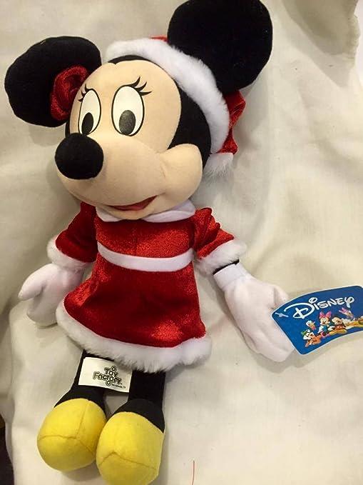 Minnie Mouse Christmas Dress.Amazon Com Minnie Mouse Christmas Disney Plush Red Dress