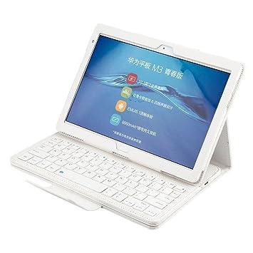 Huawei MediaPad M3Lite 10con funda tipo folio, funda para teclado y