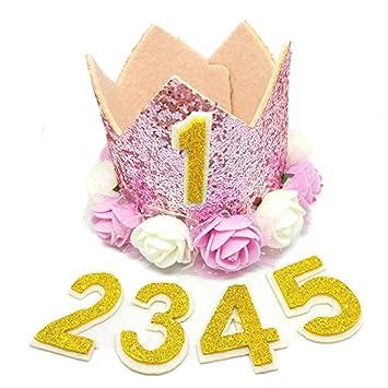 Sombrero de cumpleaños para animales de compañía de la corona para perros gatos Gatitos reutilizable fiesta de cumpleaños diadema para mascotas ...