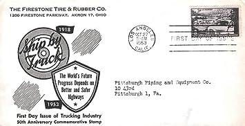 Amazoncom United States Scott 1025 3c Trucking Industry 1953 Los