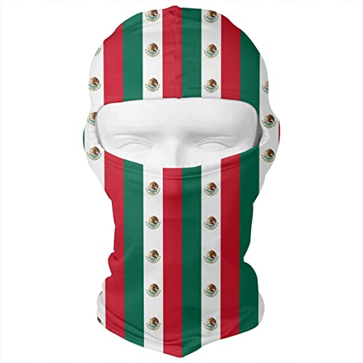 WD rain Mexico Flag Pattern Balaclava Face Mask Headwear Helmet Liner Gear  Full Face Mask Hood Motorcycle 8e3fc3930