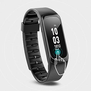 Pulsera de actividad Fitness Tracker resistente al agua - joroto Bluetooth inalámbrica banda de pulsera deporte podómetro reloj inteligente para ios y ...
