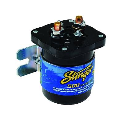 Stinger SGP35 500-AMP Relay and Isolator: Car Electronics