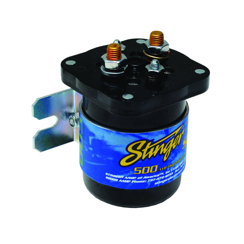 Stinger SGP35 500-Amp Relay and Isolator STIY7