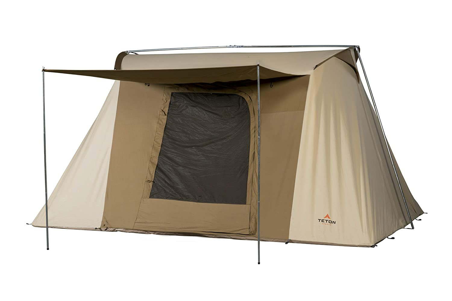 TETON Sports Mesa Canvas Tent; All Season Tent; Designed for Your Family/'s Camping Adventures