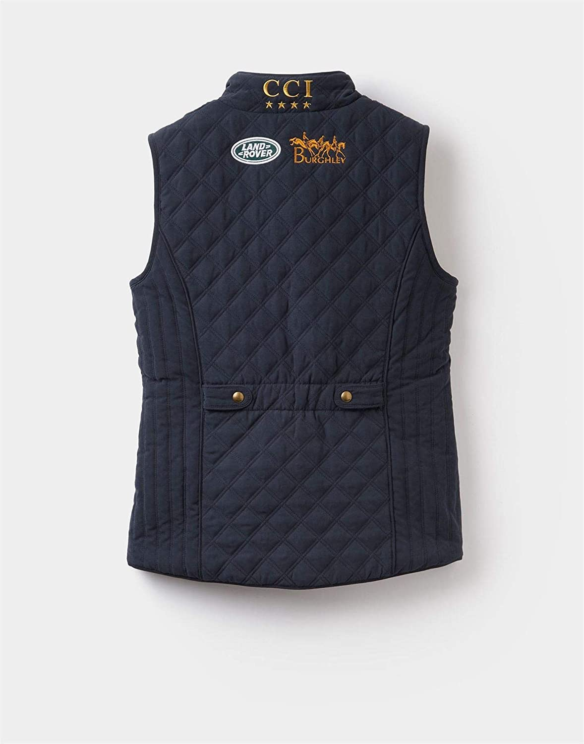 Ladies Horse Riding Equestrian Stable Outdoor Joules Official Burghley Gilet