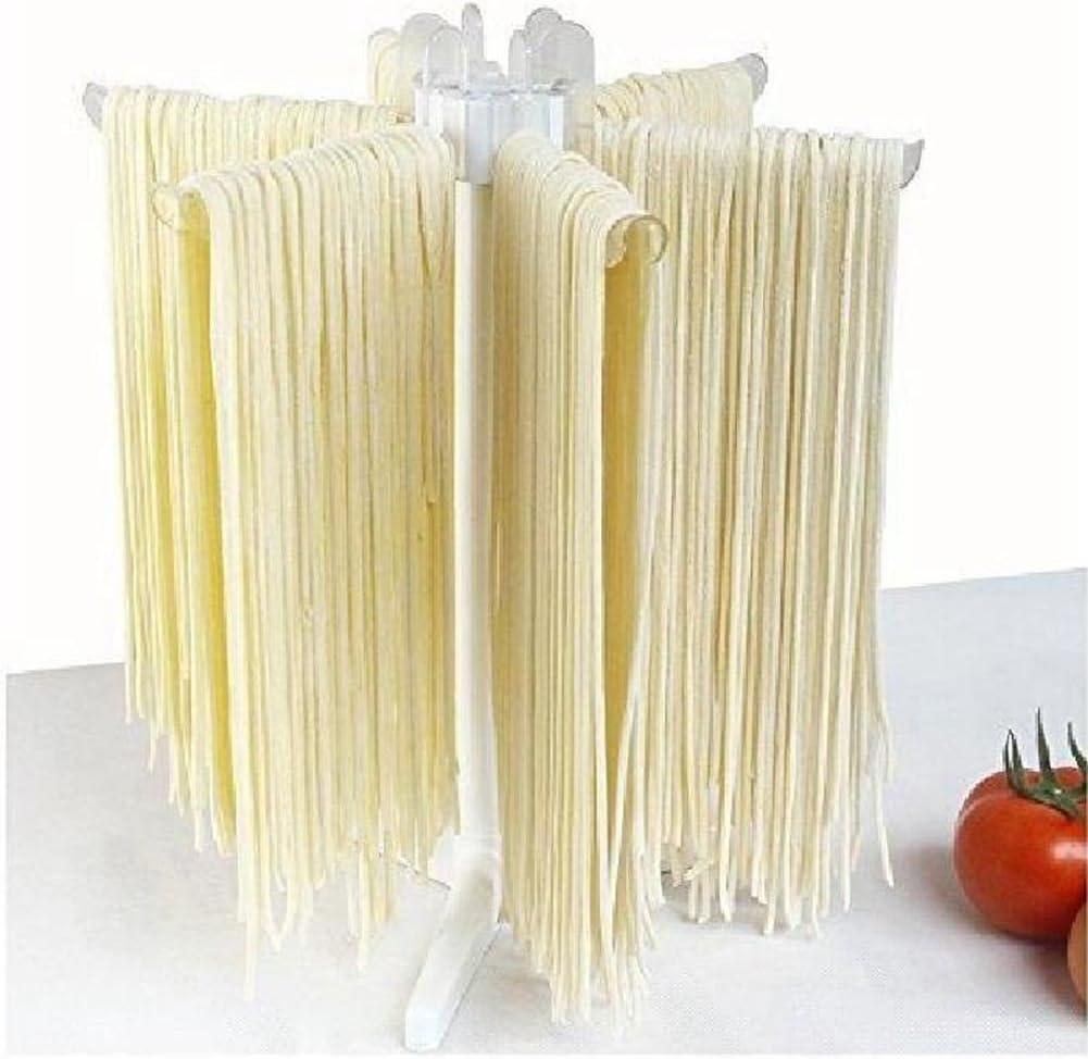 TOOGOO Tallarines Rack de secado de pasta Soporte de espagueti Secador de pie Estante colgante Accesorios de cocina Aparato
