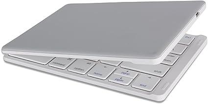 TOOGOO Teclado inalambrico portatil Ultrafino Plegable ...