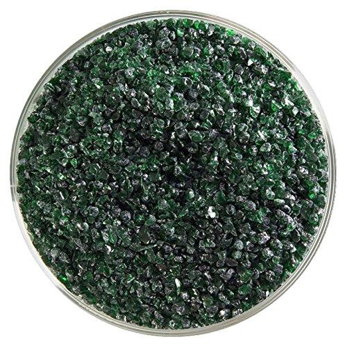 Bullseye Aventurine Green - Aventurine Green Transparent Fusible Glass Medium Frit - 4oz - 90COE - Made from Bullseye Glass