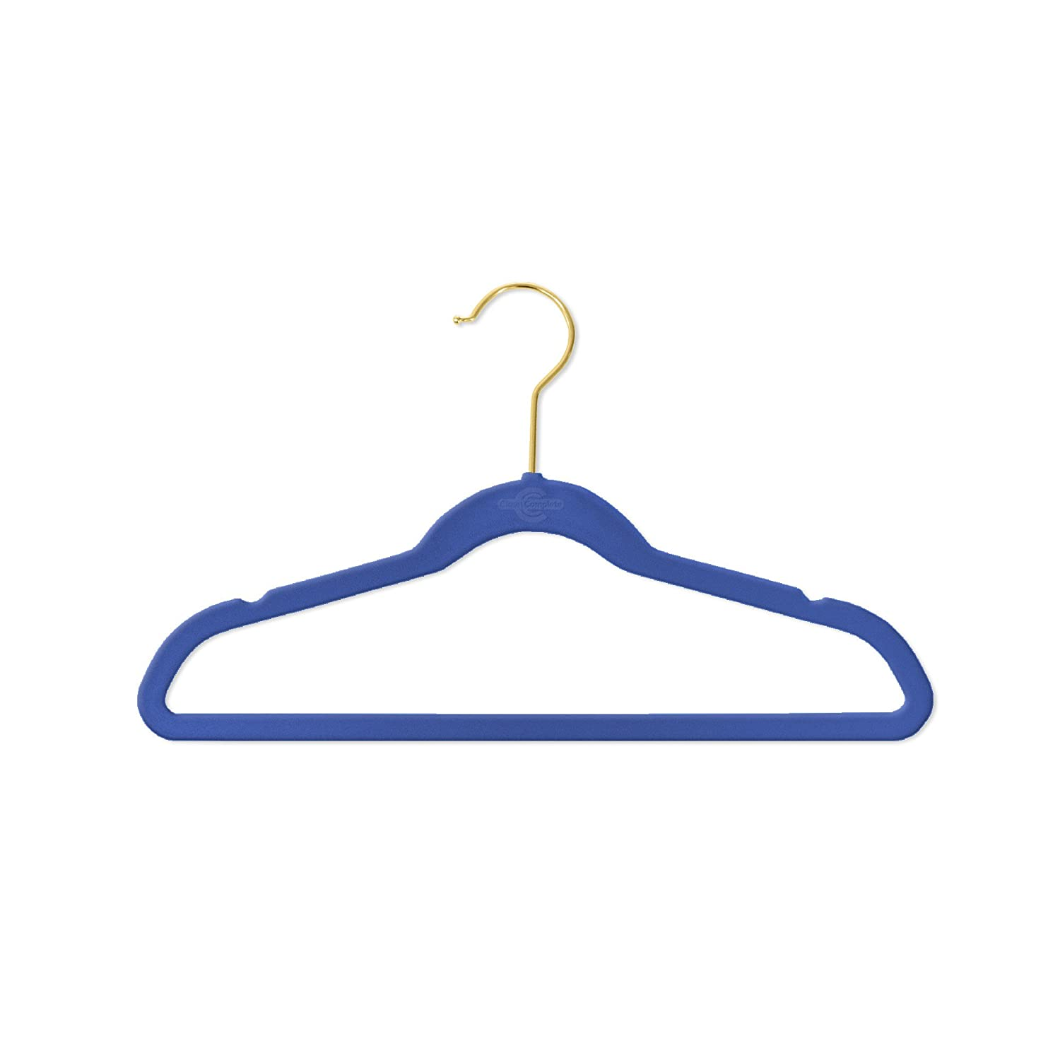 360/º Spin Ultra-Thin Velvet Hangers No-Slip Set of 25 Ivory Premium Heavyweight Virtually-Unbreakable Closet Complete Kids Size Perfectly Sized for Kids 4-15 Years Space Saving