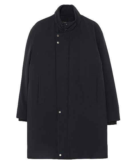 8ba35473 Zara Men's Padded Coat with Lining 0706/605 Blue: Amazon.co.uk: Clothing