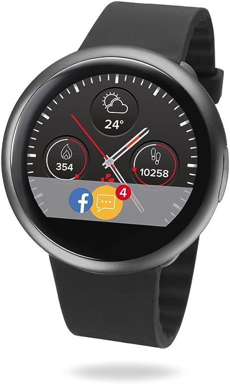 MyKronoz ZeRound2 - Smartwatch con Pantalla táctil a Color de 1.22 ...