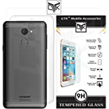 TheGiftKart Soft Clear Back Cover and HD Tempered Glass for Coolpad Note 5 Lite (Transparent)