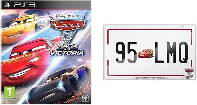 Cars 3 + Matrícula: Amazon.es: Videojuegos