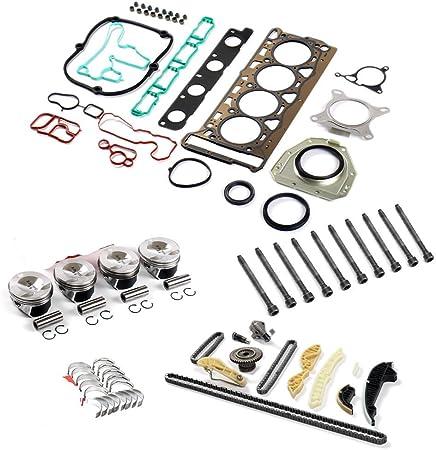 Engine Overhaul Rebuild Kit Fit VW GTI Tiguan AUDI A5 Q6 2.0 TFSI CAEB CCTA CDN