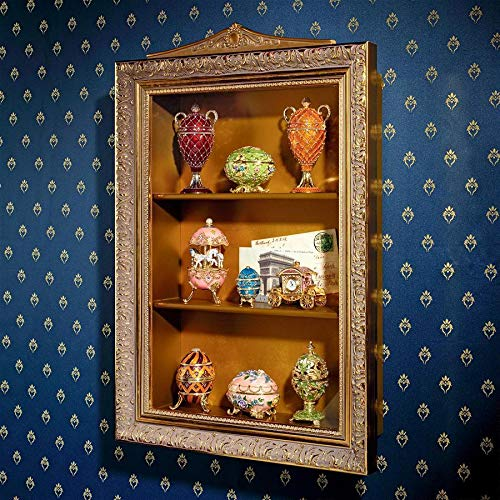 Used, Design Toscano Eggs of The Tsar Wall Curio Display for sale  Delivered anywhere in USA
