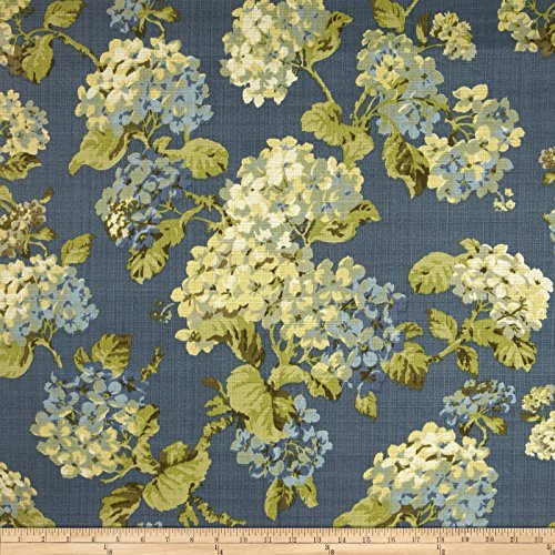 Waverly Shade - Waverly Rolling Meadow Sun N Shade Chambray Fabric