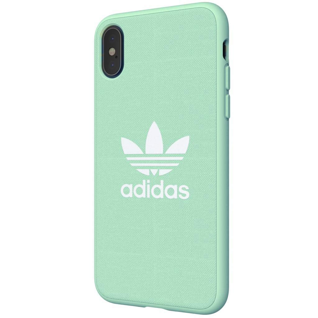adidas Originals Funda iPhone X/XS Snap Fabric - Clear Mint