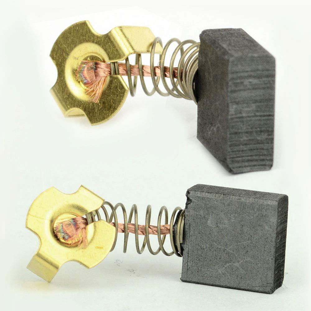 614367-00 Carbon Brushes for Dewalt DW713//DW715//DW716 Miter Saws Fit Ryobi BTS21-D04 and Ridgid 0502025007