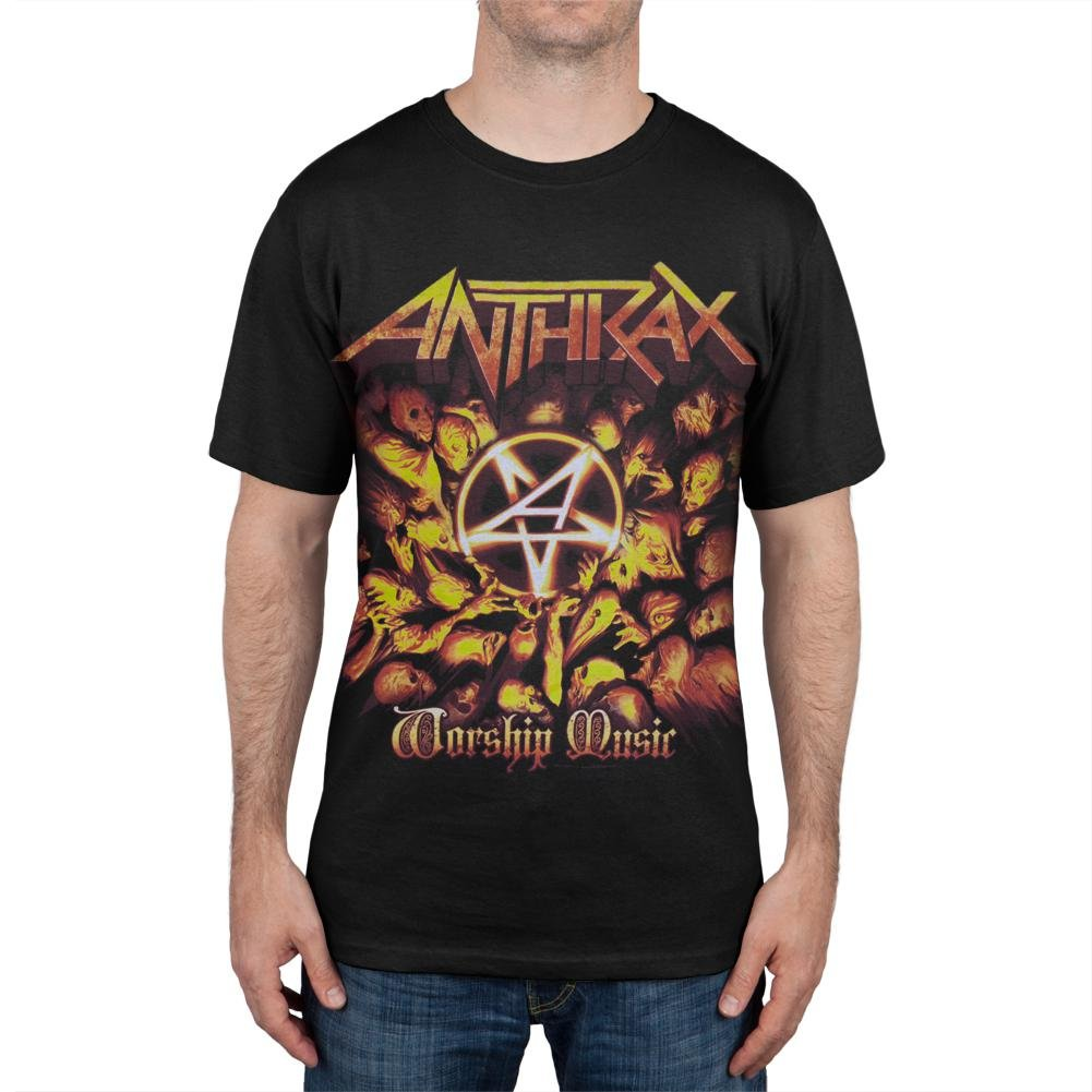 Anthrax - Worship Music Tour T-Shirt Old Glory 82348