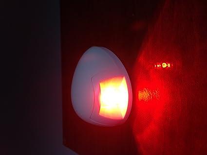 MARINE BOAT RED PORTSIDE LED NAVIGATION LIGHT