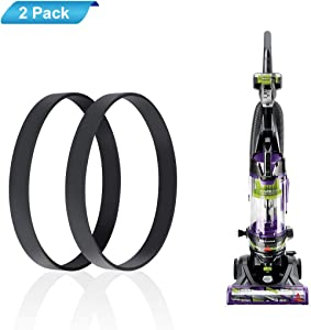 LANMU Belts for Bissell Powerlifter/CleanView Swivel Rewind Pet Vacuum Cleaner, Fits Models 2259, 2252 (2-Pack)