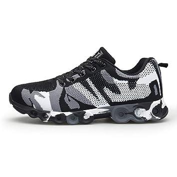 LuckyGirls Zapatillas de Correr Malla Camuflaje Moda Calzado de Deportivas Moda Bambas Zapatos de Running de Las Hombres: Amazon.es: Deportes y aire libre