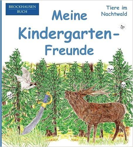 BROCKHAUSEN: Meine Kindergarten-Freunde: Tiere im Nachtwald - Freundebuch für Jungen: Volume 25