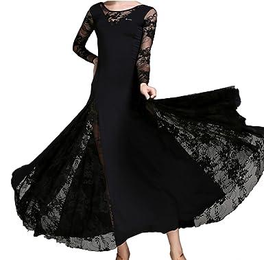 83bcfbd52 CHAGME Lace Dress Waltz Dance Skirt Dress Modern Dance Dress National  Standard Dress Cha Cha Skirts