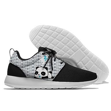 Hanhent Panda Men's Comfortable Athletic Running Sneakers Shoes