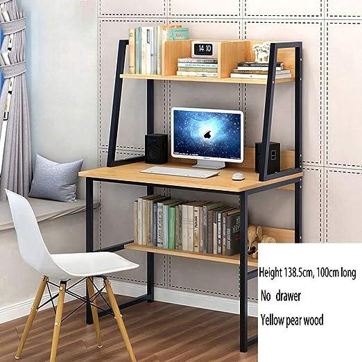 QIXIAOTING Mesa de Escritorio Simple y Moderna para el hogar ...