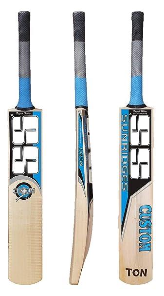 SS Custom English Willow Cricket Bat  Color May Vary