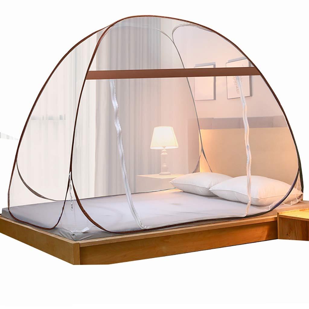 蚊帳ベッド折りたたみ式防蚊ネット360°防蚊防止子供ドロップ2つの入り口は1.2 m / 1.5 m / 1.8 mのベッドをインストールする必要はありません (サイズ さいず : 180*195*150CM) B07SBKSXND  180*195*150CM