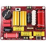 アクティブスピーカー周波数分割器400W 2つの方法のクロスオーバートレブルサブウーファーオーディオボードDIY ホームシアターサウンドシステム