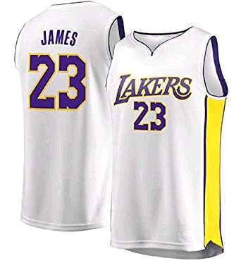 designer fashion d65a2 32a11 Lebron James lakers jersey white (all sizes available ...