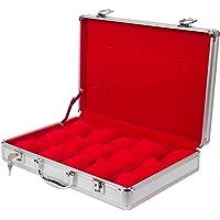 Medetai Luxury 15 Grid Leather Watches Box Jewelry Display Storage Case_691190856234