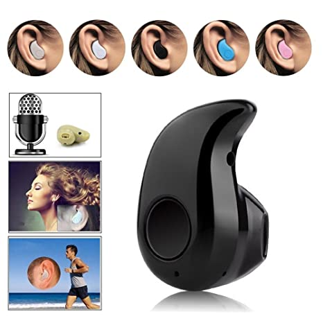 Amazon.com: Mini Wireless Bluetooth 4.0 Stereo In-Ear Headset Earphone for iPhone Samsung LG Sony HTC and Other Smartphones Tablets (Black): Cell Phones & ...