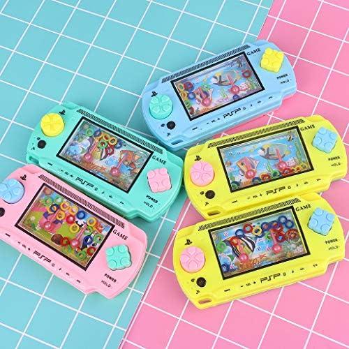 qingqingR Kids Toy Consola de Agua M/áquina de Juego para ni/ños Juguetes intelectuales cl/ásicos Regalos Color Aleatorio