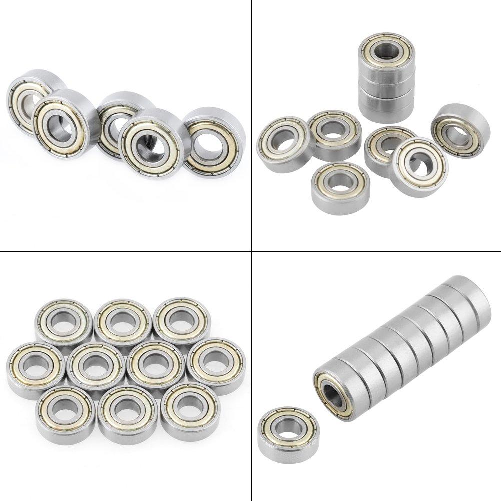 Rodamientos de bolas 10 piezas 440C 696ZZ Rodamientos de bolas de acero inoxidable 6 x 15 x 5 mm