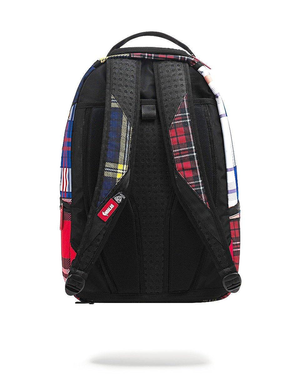 Amazon.com  NBA LAB X Sprayground D Angelo Rusell Plaid Jersey Backpack   Clothing 6a4b4d3368591