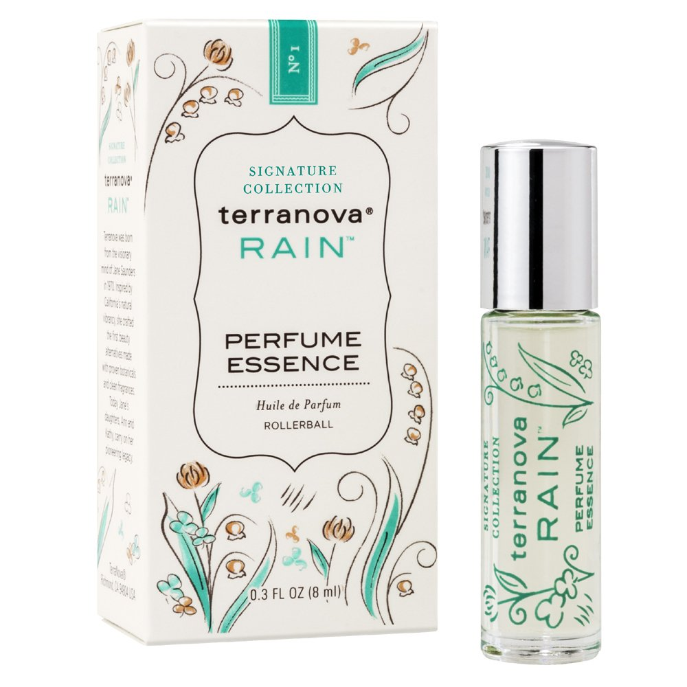 Terranova Rain Perfume Essence - 0.3 Fl Oz
