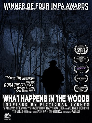 Wahoo Shorts - What Happens in the Woods