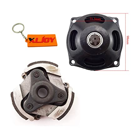Amazon.com: XLJOY 25H 6T Gear Box Drum Clutch No Keyway For 47 49cc Mini ATV Pocket Dirt Bike Moto: Automotive