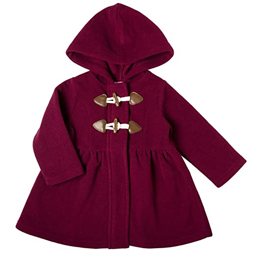 d24c5eeff796 Amazon.com  Good Lad Toddler and 4 6X Girls Burgundy Hooded Fleece ...