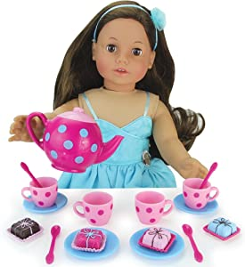 Sophia's Doll Sized Pink & Blue 18