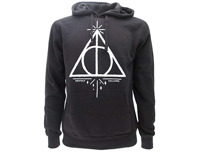 Harry Potterr SUDADERA CON CAPUCHA Hoodie Simbolo de LAS RELIQUIAS DE LA MUERTE - 100% Oficial WARNER BROS (XL Extra Large): Amazon.es: Ropa y accesorios