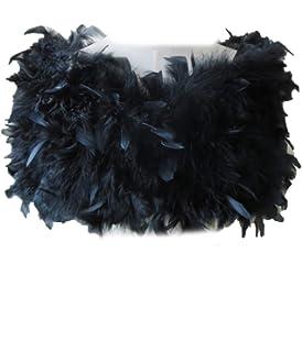 Badgley Mischka Womens Feather Shrug Badgley Mischka Women/'s Accessories RTW-4318