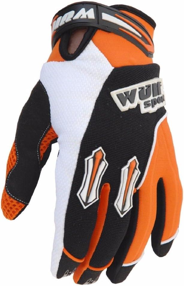 WULFSPORT STRATOS MOTORBIKE ADULT /& KIDS MX GLOVES Motocross Sports Off Road Trials Enduro Quad Kart Dirt Bike Cycle ATV MTB BMX Race Adult /& Junior Gloves