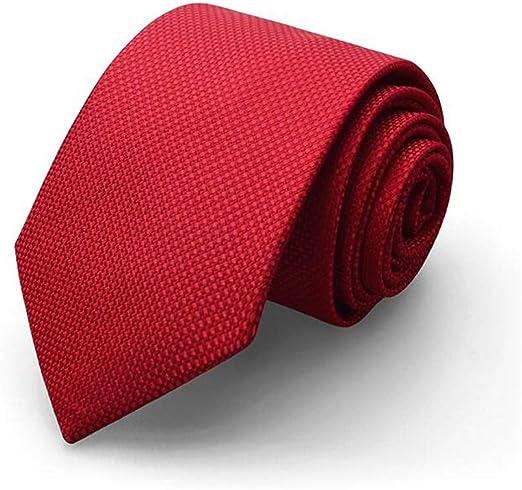 QYSZYG Corbata/Traje de Hombre/Vestido de Novia Rojo Corbata ...