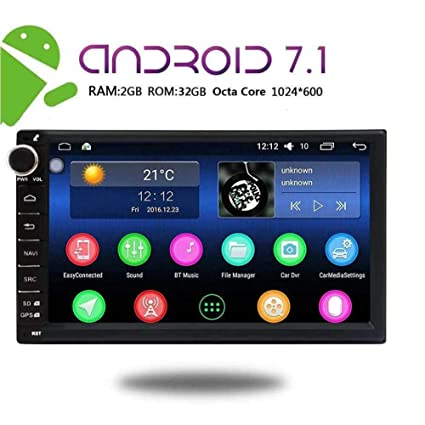 Amazon Com Eincar 7 Inch Car Stereo Android 7 1 2gb 32gb Head Unit